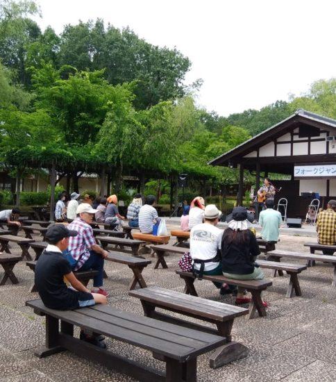 ぎふ清流里山公園でフォークジャンボリーに出演