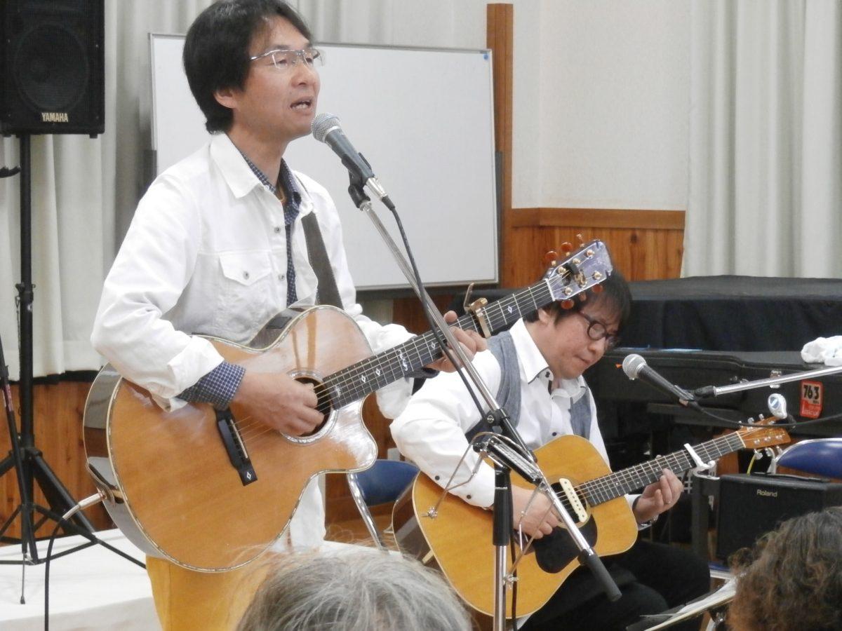 須坂でライブ♪「第7回 ふれあいミニコンサート」
