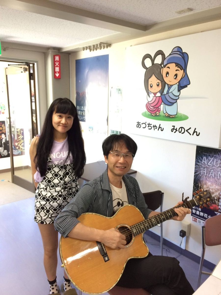 あづみ野FM生出演♪