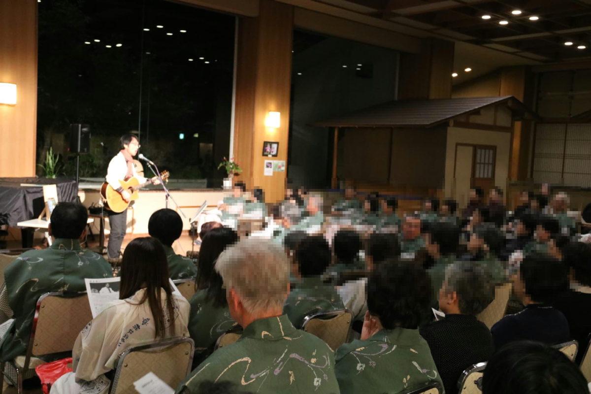 横谷温泉旅館ロビーコンサート
