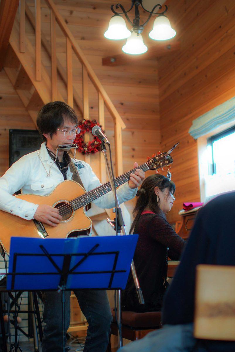 クリスマスコンサート@岐阜県ひるがの高原Cafe room 季の奏