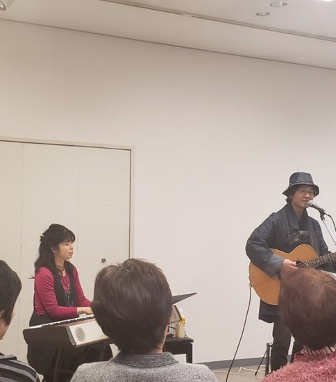 新春ライブ@笠原書店2Fギャラリーあすなろ